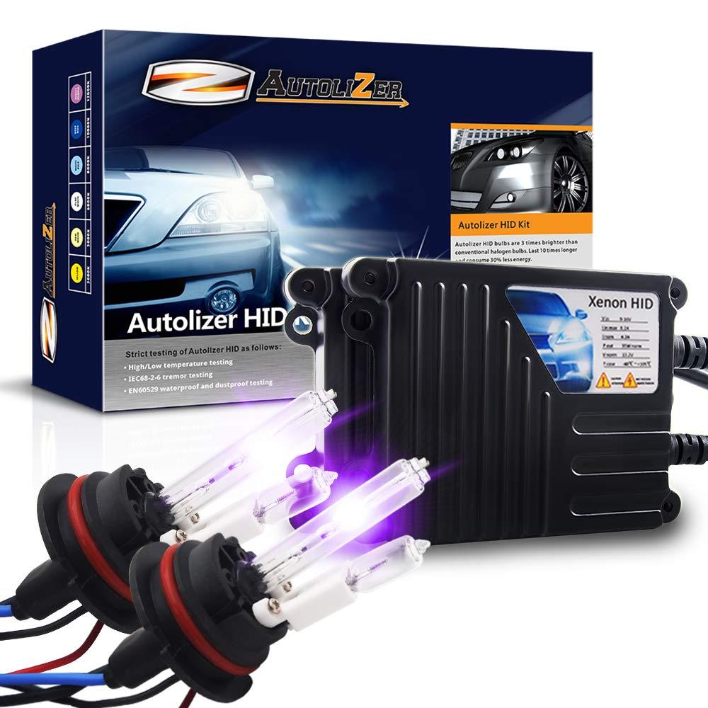 9007 9004 HB1 HB5 Autolizer 35W Xenon HID Lights - Bi-Xenon with Relay 10000K Dark Blue