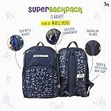 Superbottoms Superbackpack for Parents On The Go - Warli Art (Blue)