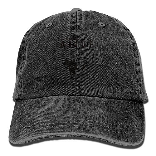 Dead Or Alive 6 Costumes (YZSS Cat-Schrodinger's Cat Is Alive Or Dead Geek Unisex Cowboy Hat Vintage Cool Denim Baseball Caps Trucker Hats)
