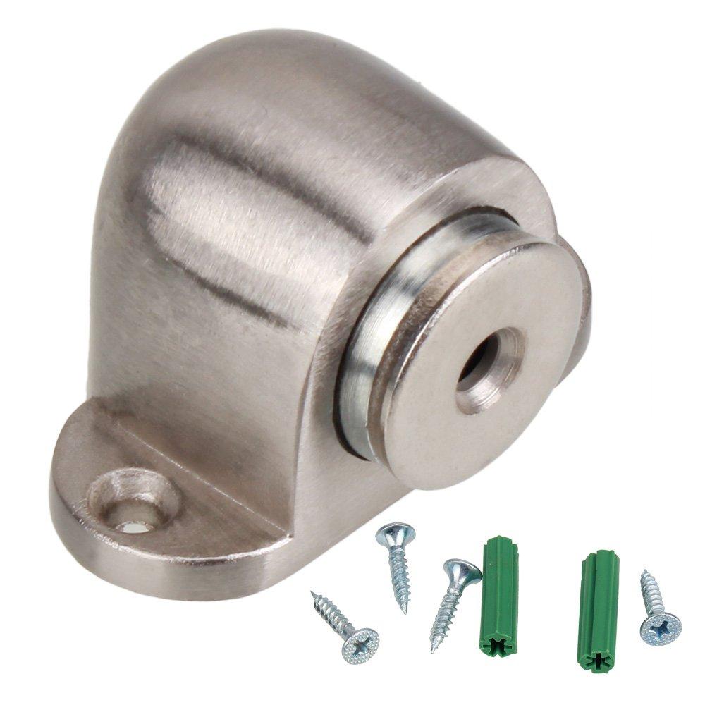 RDEXP Fermaporta / porta magnetica in acciaio inox con attacco a vite