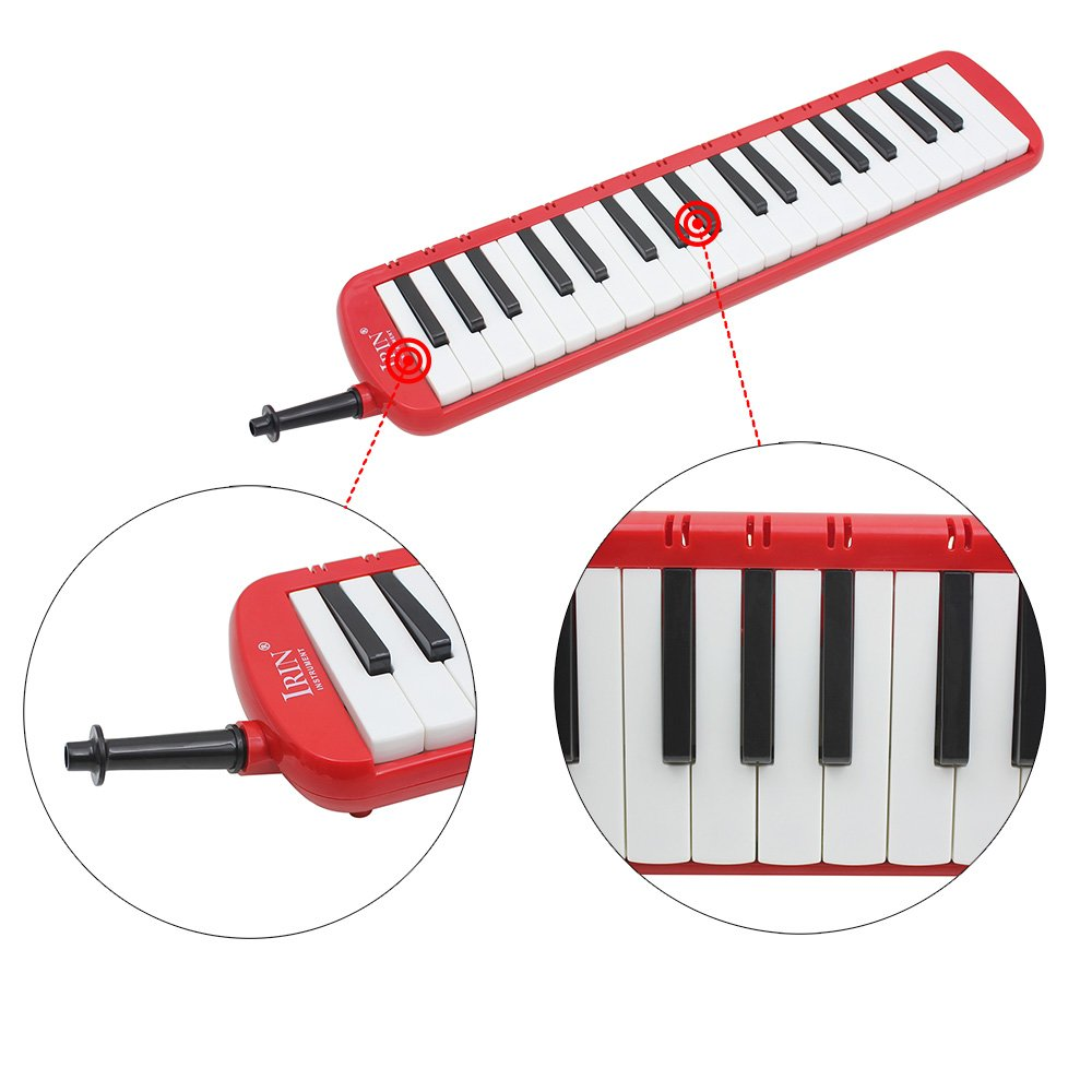 ammoon 37 Piano Keys Melodica Pianica Musical Instrument with Carrying Bag for Students Beginners Kids by ammoon (Image #4)