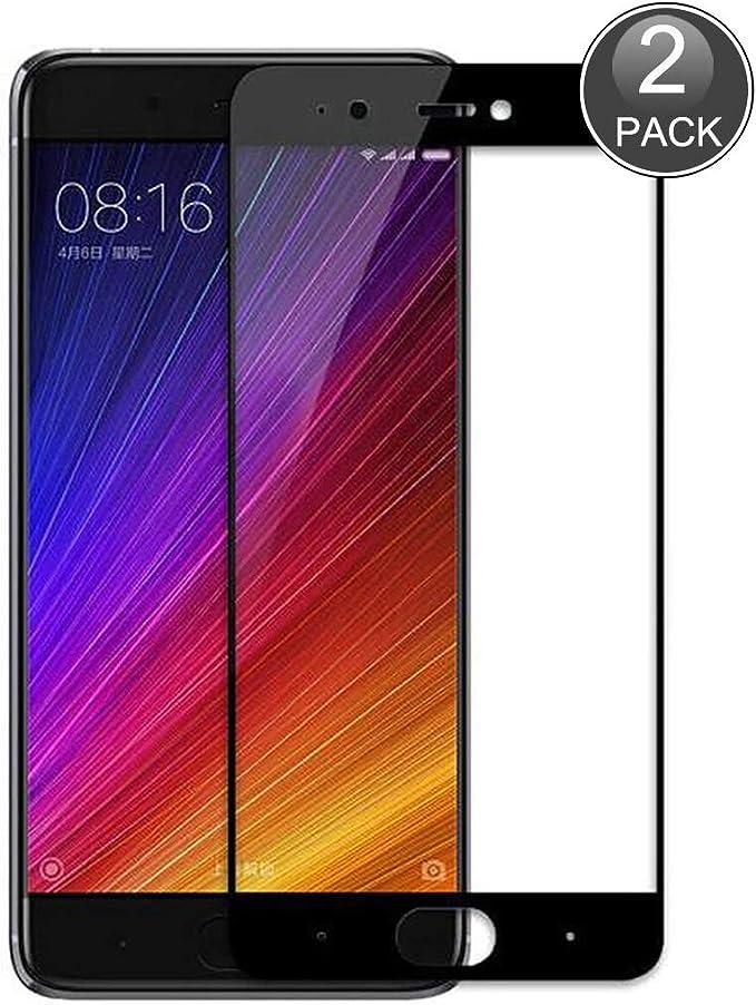 E-Hamii Película Cobertura Completa Compatible con Xiaomi Redmi Note 4X[Negro],[Pantalla Completa Pegada][Antiarañazos]Cubierta Protectora Vidrio Templado Premium 9H Premium,para Xiaomi Redmi Note 4X: Amazon.es: Electrónica