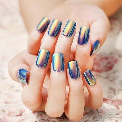 jovono falsas uñas consejos para uñas postizas completa (redonda clavos consejos para las mujeres y