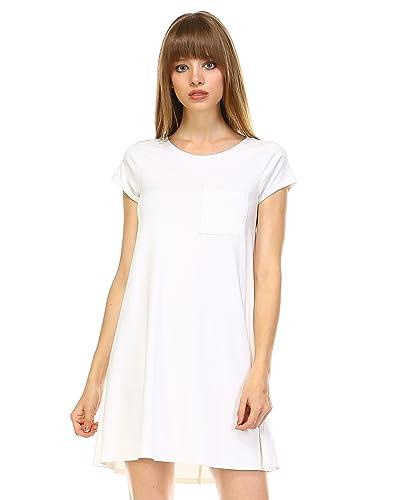 Elain & J Boutique Pre-Washed T Shirt Dress For Women