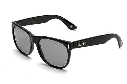 8d223d776 Catania Occhiali Gafas de Sol Polarizadas - Modelo Wayfarer Vintage Classic  - Gafas Unisex - (