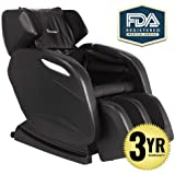 2019 Full Body Massage Chair + 3yr Warranty. Electric Zero Gravity, Foot Roller, Shiatsu Recliner with Heat and Audio. Newest Real Relax Model