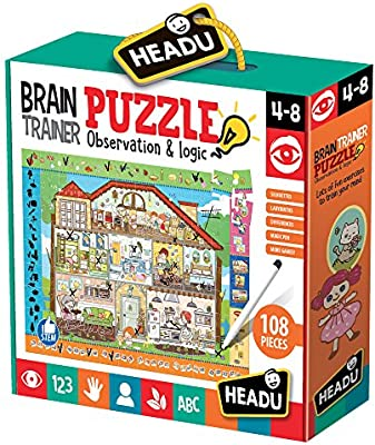 Headu- Brain-Trainer Puzzle, Juego Infant, Multicolor (IT21154) , color, modelo surtido: Amazon.es: Juguetes y juegos