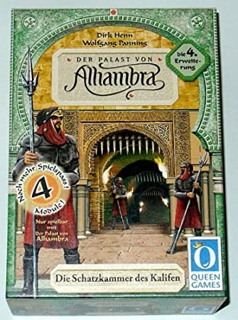 Alhambra Exp 4: The Caliphs Treasure Chamber [Toy] by Rio Grande ...