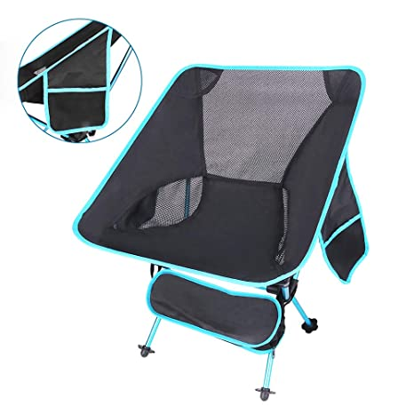 Portable Outdoor Fishing Chair Folding Backpack Camping Oxford Cloth Foldable Picnic Fishing Beach Chairs Lightweight Easy To Repair Outdoor Furniture Beach Chairs