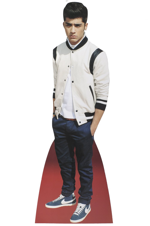 Zayn Malik Celebrity Desktop Cardboard Cutout Real Stand Up Grids London