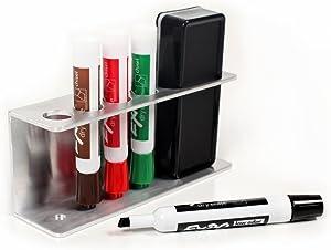 Magnetic Marker holder tray for whiteboards