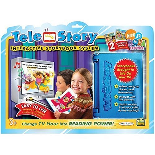 (Storybook TeleStory Console System with Cartridge: 2 Dora The Explorer Stories)