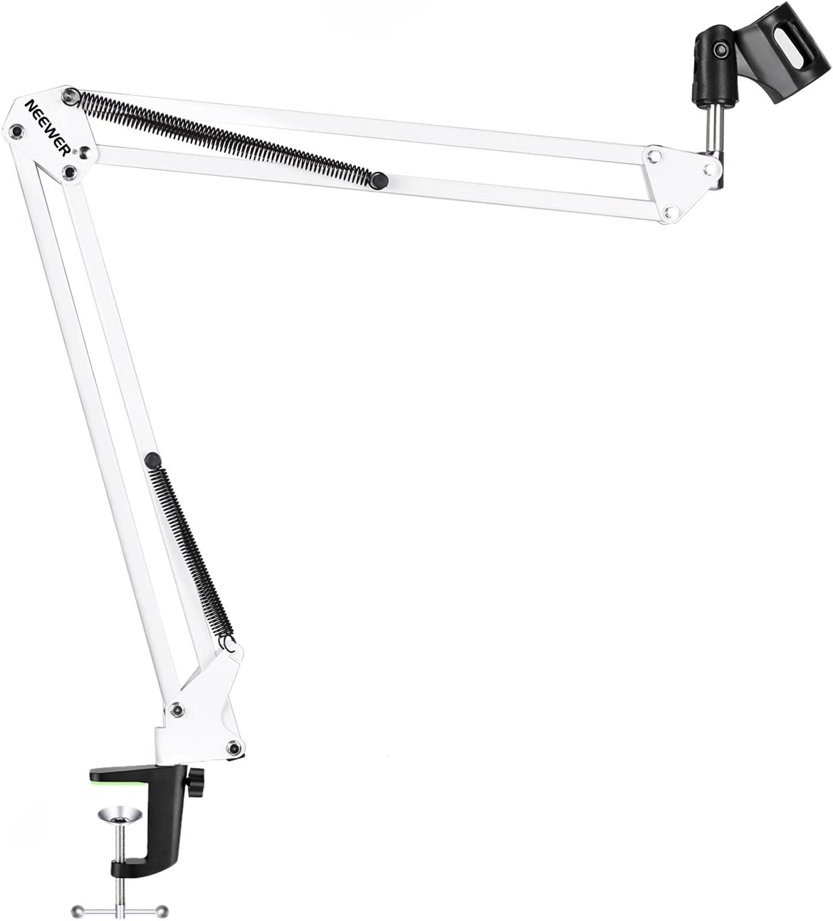 Neewer/® Heavy Duty Metal Table Clamp for Microphone//Boom Scissor Arm Stand Holder with Adjustable Screw for up to 1.97 inch//5/cm Desktop Thickness