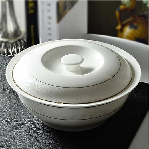 Bowl 9 Pulgadas con Tapa Utensilios de microondas for el ...