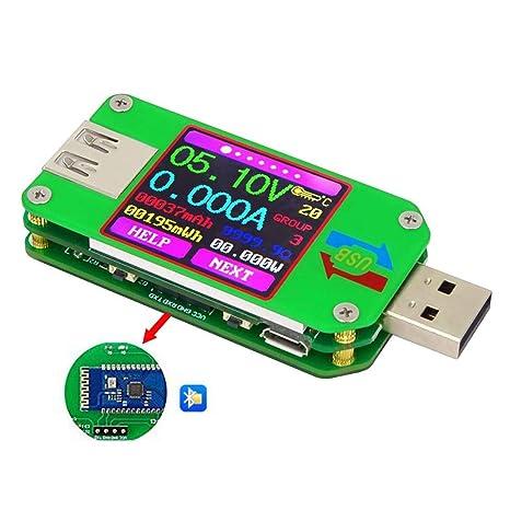 Ordenador USB Seguridad Probador Power Bank Digital Metro Detector Capacidad