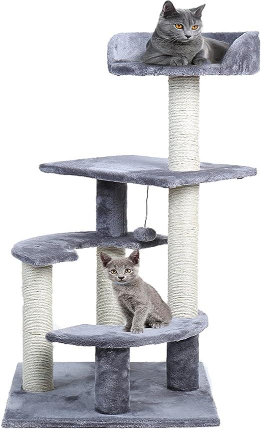 PAWZ Road Rascador Gato – Árboles para Gatos Árbol Parte (100 cm ...
