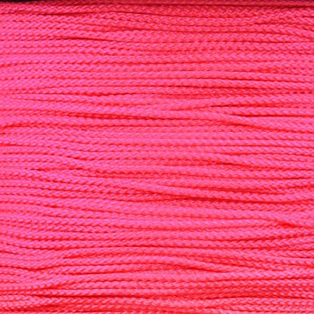 Nylon Paracord in Solid Colors M90 Micro 90 Cord 1000 Foot Sizes 100 Choose from 10 Tensile Strength 90 LBs 50 25
