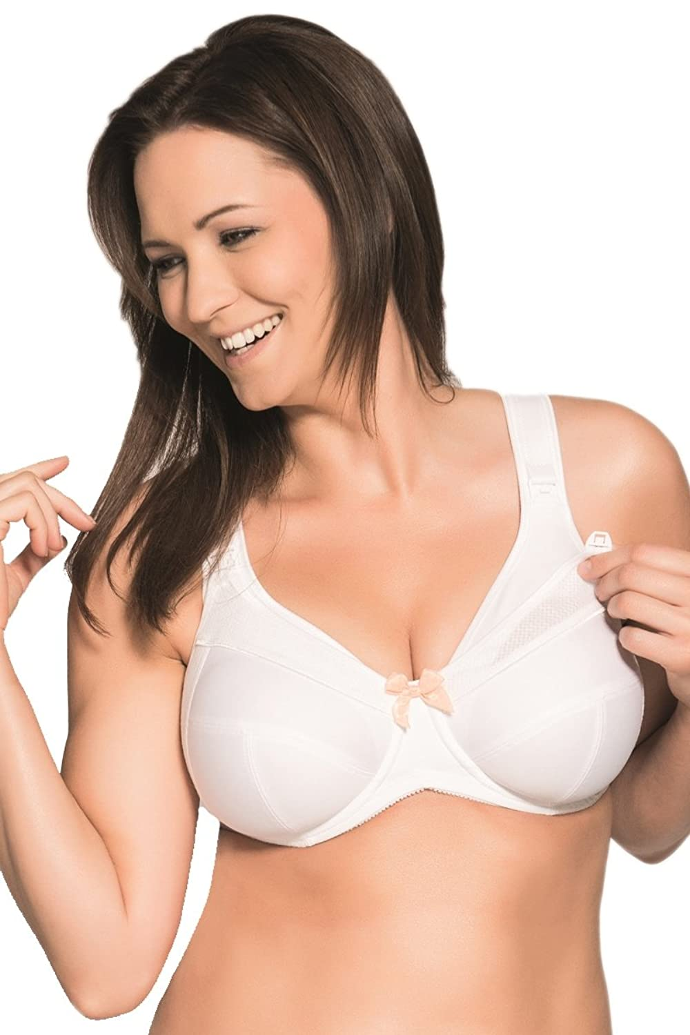 Ulla Women's Nursing Bra 6124 White 46 I