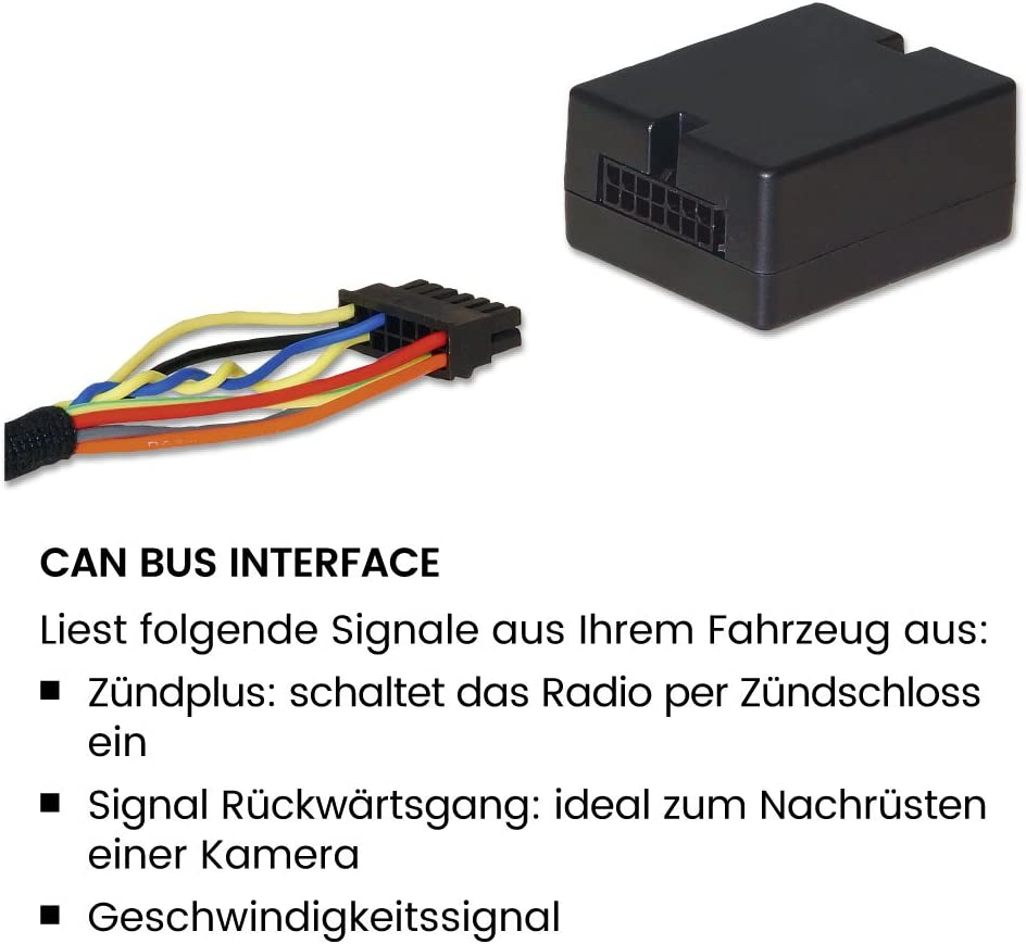 Pour Seat Alhambra 2 Facelift d/'Facelift CAN-BUS Voiture Radio Adaptateur Connecteur