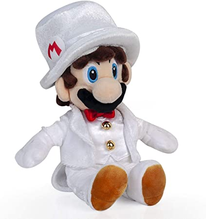 Yijinbo Super Mario Odyssey Mario Wedding Dress Plush Toy