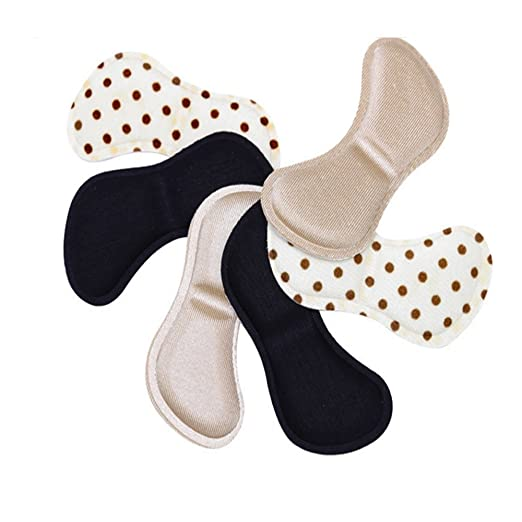 3//5//10pairs Silicone Back Heel Liner Gel Cushion Insole High Dance Shoes Grip