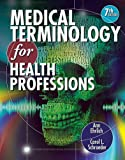Audio CDs for Ehrlich/Schroeder's Medical Terminology for Health Professions, 7th, Ehrlich, Ann and Schroeder, Carol L., 1111543321
