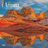 Arizona, Wild & Scenic 2018 12 x 12 Inch Monthly Square Wall Calendar, USA United States of America Southwest State Nature (Multilingual Edition)