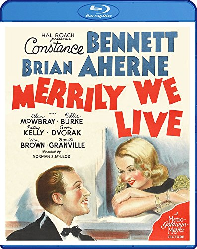 Blu-ray : Merrily We Live (Subtitled)