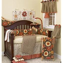 Cotton Tale Designs Peggy Sue Girl's Crib Bedding Set, 8 Piece