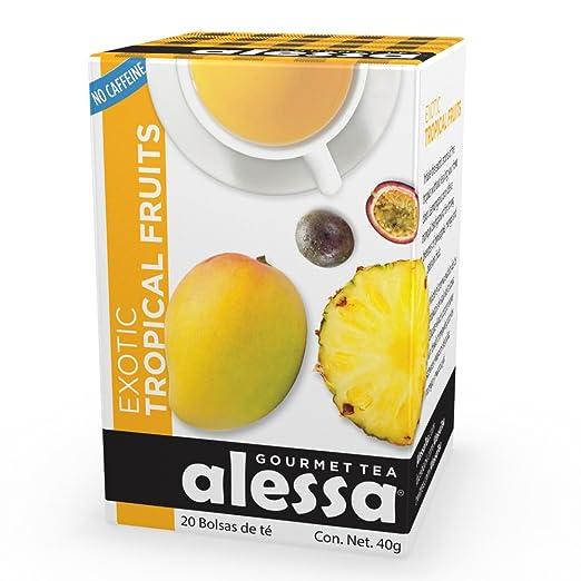 Amazon.com : Alessa - Exotic Tropical Fruits Gourmet Tea ...