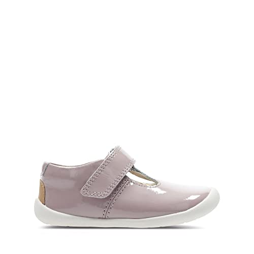 Clarks Roamer Go Toddler Leather Shoes in Pink Patent  Amazon.co.uk ... 2f20bb65a