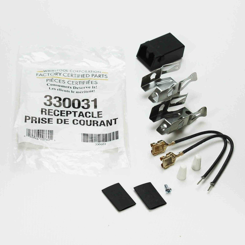 4 Brûleur Récipient Kit pour Whirlpool Kenmore gamme 330031