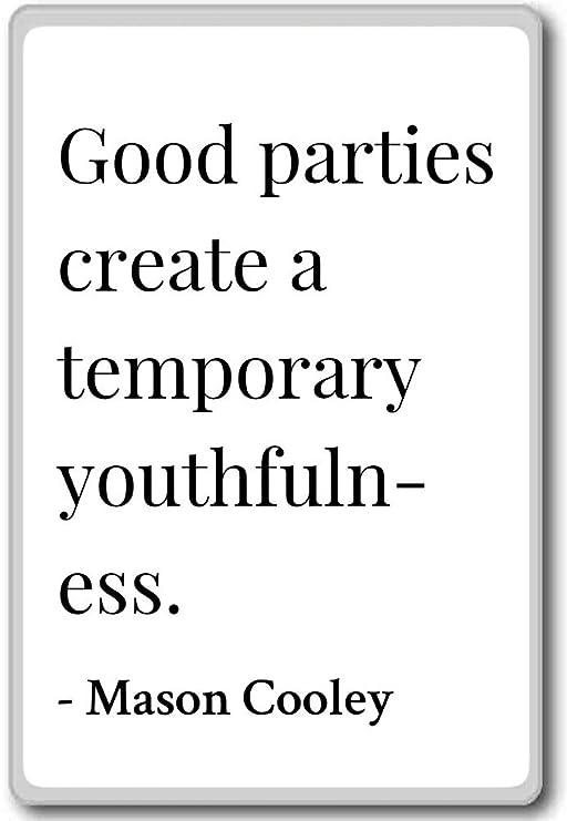 Buena partes crear un temporal Juventud... - Mason Cooley citas ...