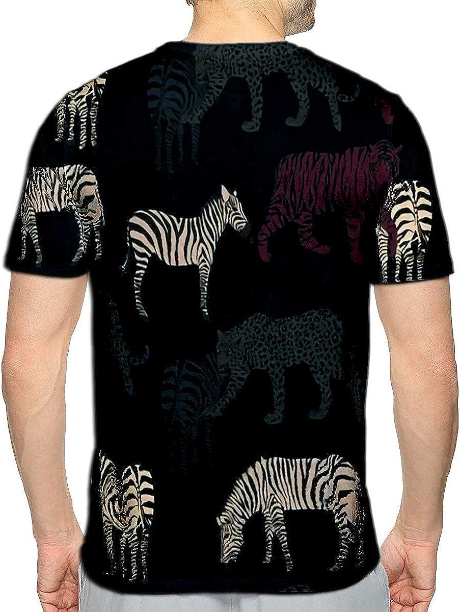 YILINGER T-Shirt 3D Printed Brave at Heart Casual Tees