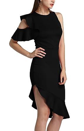 esRopa Y Fiesta Para Ajustados Vestidos Noche MujerAmazon Twippo Y6fgby7