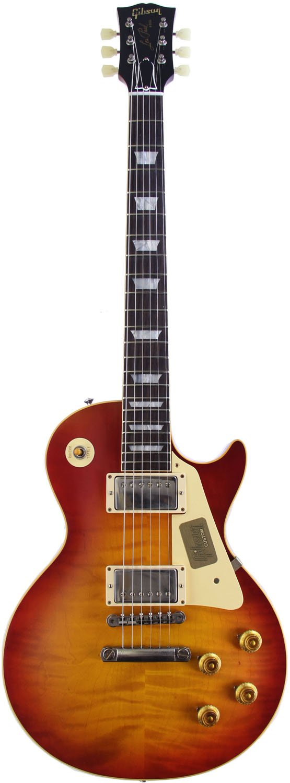 Gibson Custom Shop ギブソン エレキギター Standard Historic Japan Special Run 1958 Les Paul Standard Reissue VOS Believer Burst【SN.87484】 B06XYN2PFH