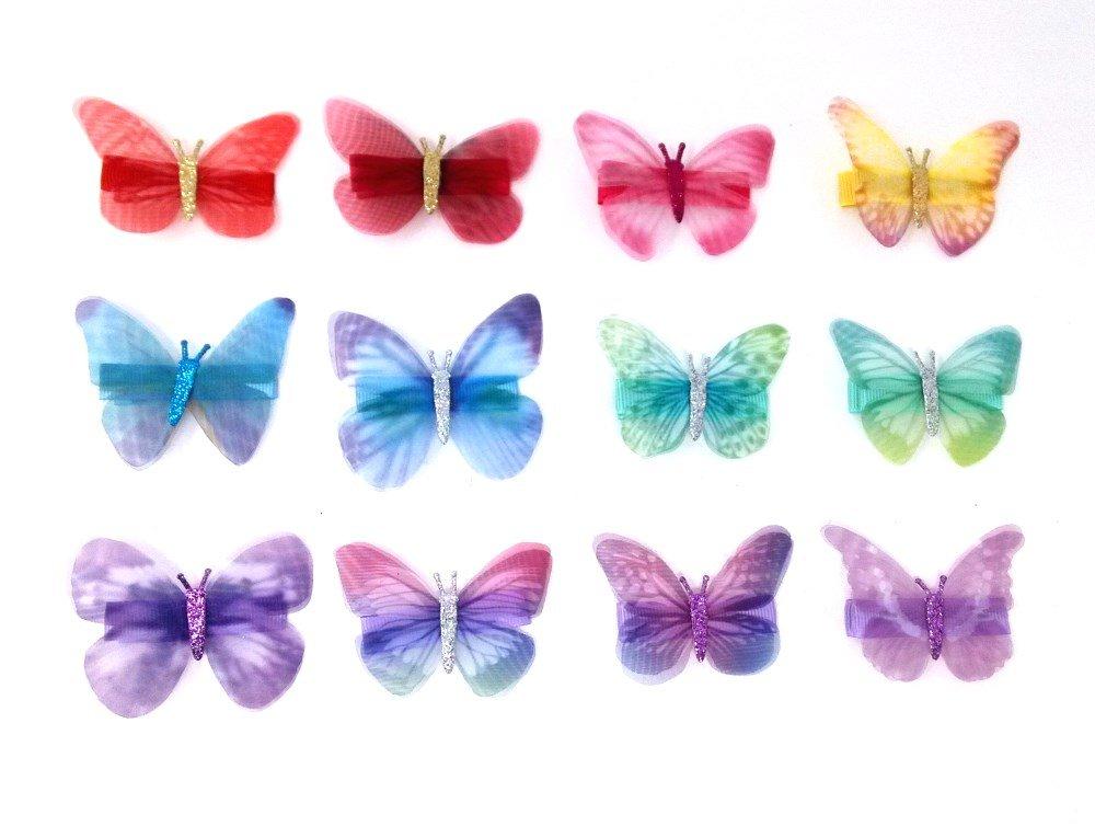 Butterfly Barrettes