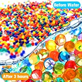 Water Beads Pack (50000 beads) Rainbow Mix Jelly