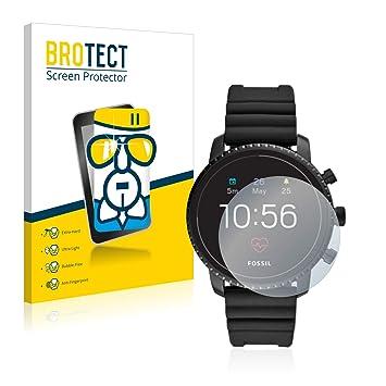 BROTECT Protection Ecran Verre pour Fossil Q Explorist HR (4.Gen) Protecteur Vitre
