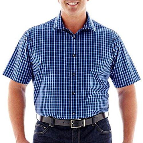 Claiborne Short-Sleeve Linen-Cotton Shirt Size L