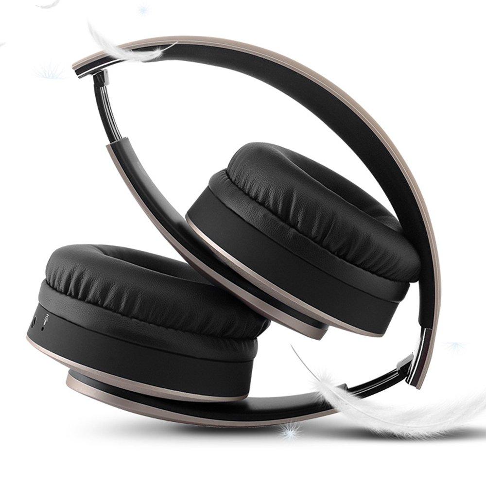 HEADSET Nuevo Auricular estéreo Bluetooth inalámbrico 4.0 Auriculares para computadora Mini Auriculares Bluetooth Plegables Xuan