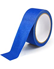 UEETEK 30M Painters Tape Masking Clean Easy Removal Grip Cover Taper for 3D Printers,Blue