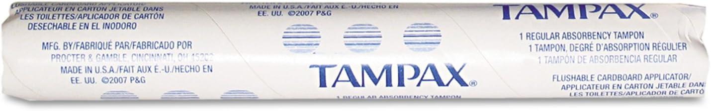 Tampax Tampons for Vending Dispenser in Vending Tubes, Hospeco T500,(Case of 500): Industrial & Scientific