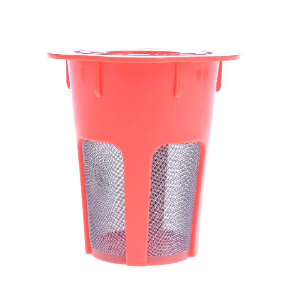 コーヒーフィルター 再利用可能 K-Cup 詰め替え可能 ステンレススチール メッシュ コーヒーフィルター ポッド キューリグ コーヒーマシン シキウィンド   B07GTJKCS8