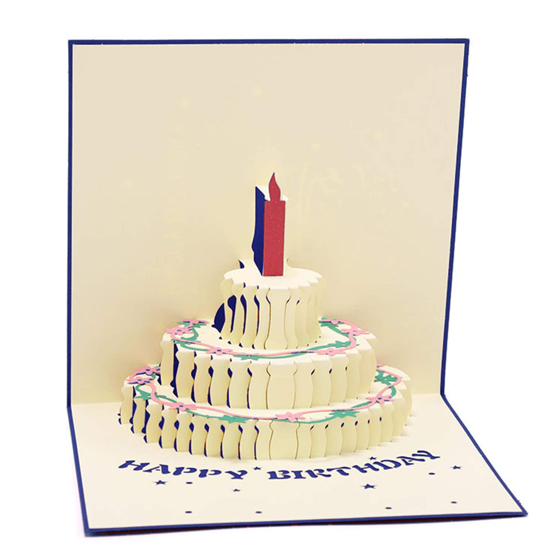 Fantastic Paper Spiritz Birthday Cake Pop Up Birthday Cards For Children Birthday Cards Printable Trancafe Filternl