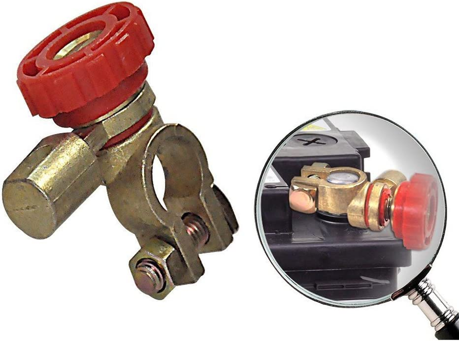 Rojo vorcool 17/ mm Universal Auto bater/ía corte Interruptor Disconnect Switch abgeschnitten Interruptor