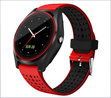 Bluetooth Smart Watch Phone V9 con 2G SIM/Tarjeta SD Relogios con ...