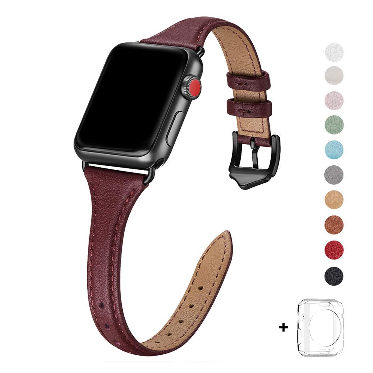 Malla Cuero para Apple Watch (42/44mm) WFEAGL [7W64ZYQX]