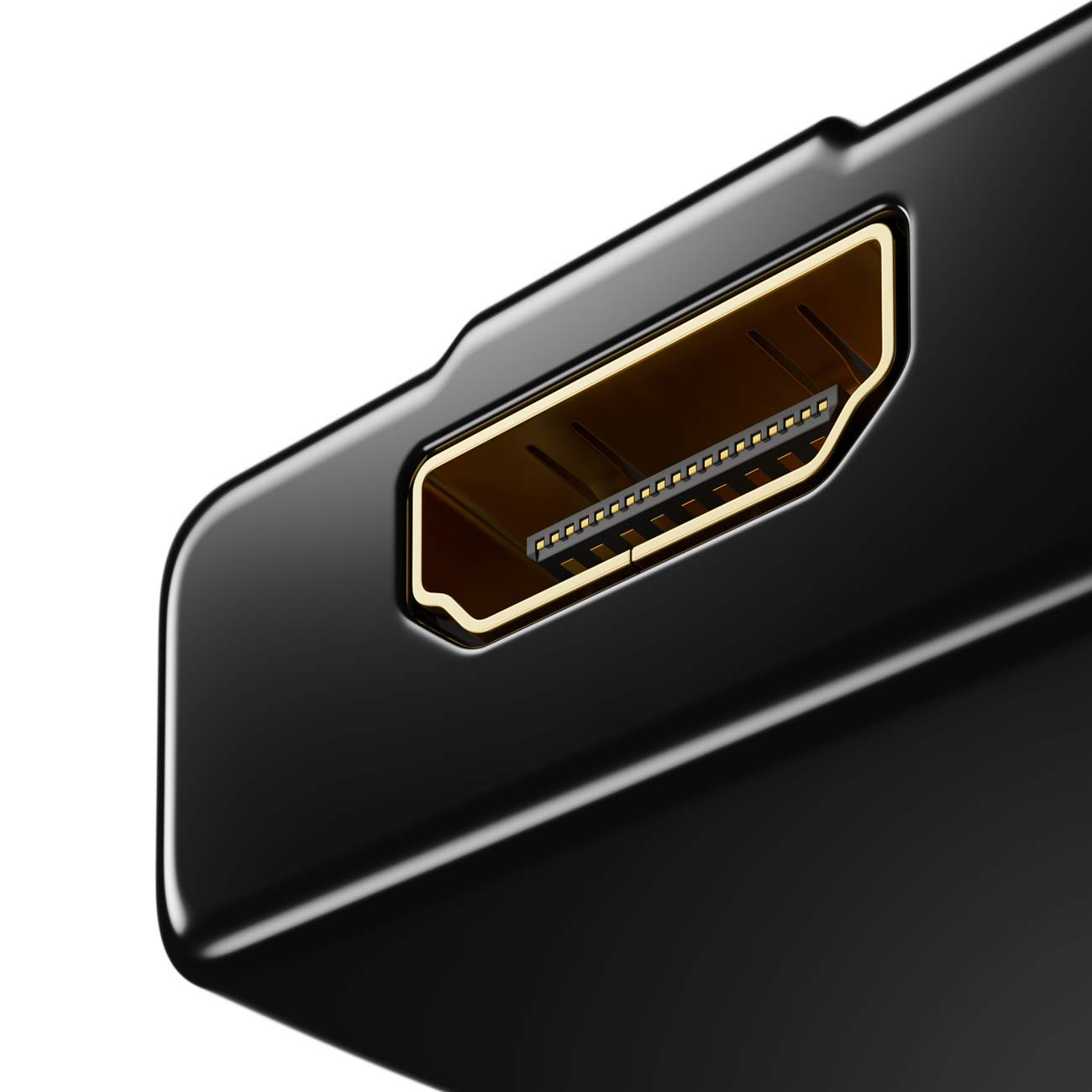 3 Port HDMI Switch QGECEN High Speed HDMI Switcher Splitter 3 IN 1 Out HDCP for Chromecast//Roku//Fire tv stick//Apple TV//Samsung TV//Blu Ray Player//Playstation//Wii U//Laptop 1080p 3D Supports 4K