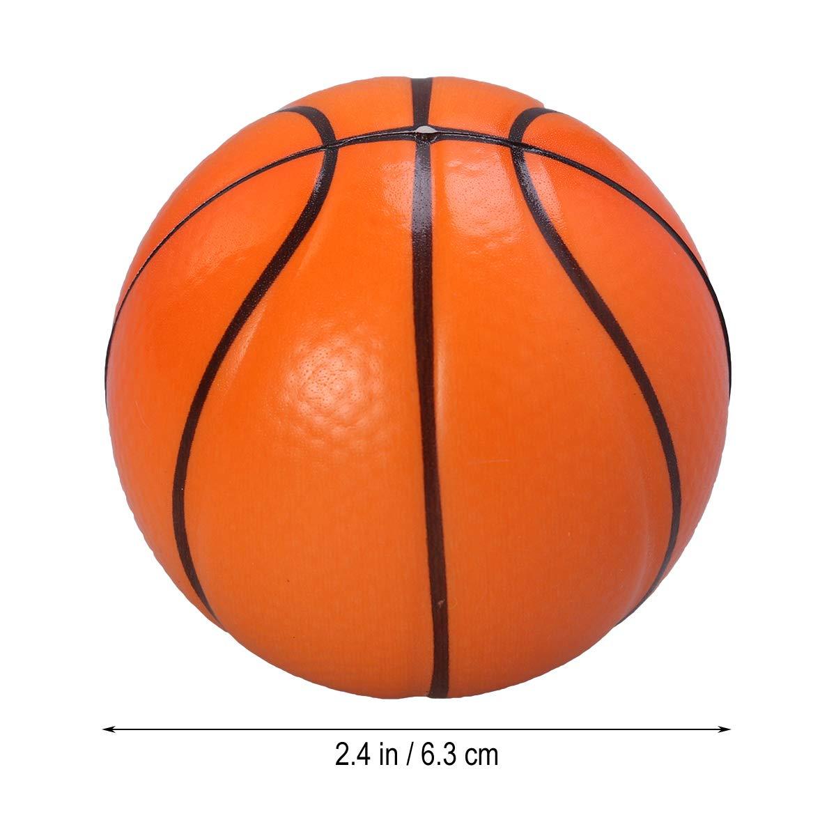 Naranja LIOOBO 12pcs Mini Bola de Espuma Deportiva Squeeze Pelotas de Espuma Pelotas de estr/és para los ni/ños Party Favor